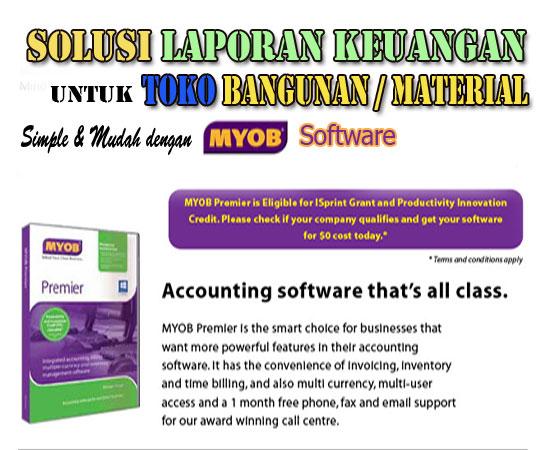 MYOB Software Toko Bangunan